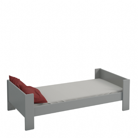 Grey Steens for Kids Single Bed